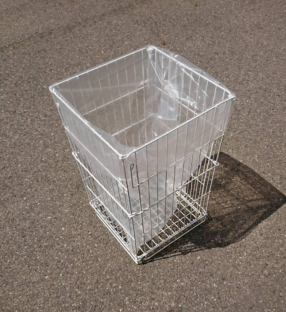 ゴミ箱(ワイヤーバスケット)